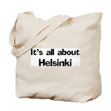 About Helsinki Tote Bag