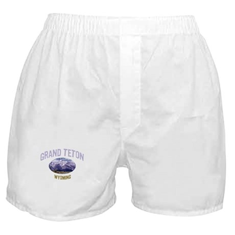 Grand Teton National Park Boxer Shorts