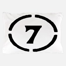 Circle 7 Pillow Case