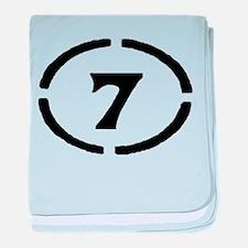 Circle 7 Baby Blanket