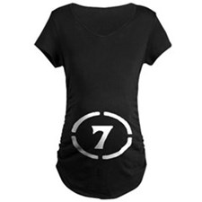 Circle 7 Women's Dark Maternity T-Shirt