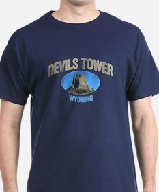 Devils Tower National Monumen T-Shirt