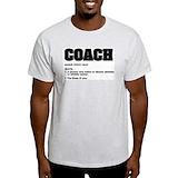 Athletics coach Mens Light T-shirts
