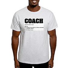 Coach: Ash Grey T-Shirt