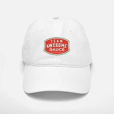 Team Awesome Sauce Baseball Baseball Cap