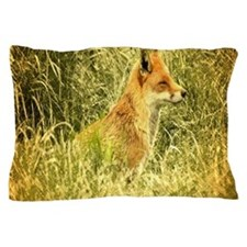 nature wildlife red fox Pillow Case