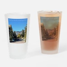 Beauty Exists Drinking Glass