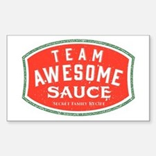 Team Awesome Sauce Decal