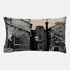 vintage church street light Pillow Case