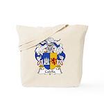 Calella Family Crest Tote Bag