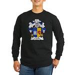 Calella Family Crest Long Sleeve Dark T-Shirt