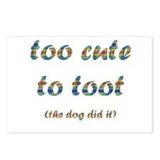 Cute Toot Postcards (Package of 8)