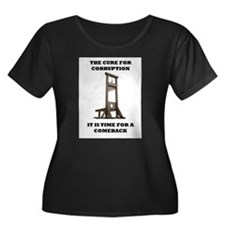 the cure for corruption Plus Size T-Shirt