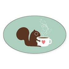 Cute Squirrel lover Decal