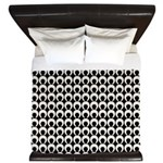 Retro Mod Pattern King Duvet