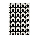 Retro Mod Pattern Mini Poster Print