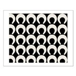 Retro Mod Pattern Small Poster