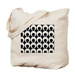 Retro Mod Pattern Tote Bag