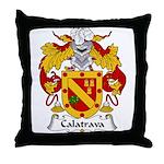 Calatrava Family Crest Throw Pillow