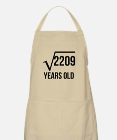 47 Years Old Square Root Apron