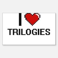 I love Trilogies digital design Decal