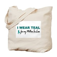 I Wear Teal For My Mother-In-Law 2 Tote Bag