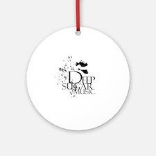 Deep Sugar Logo White Circle Round Ornament