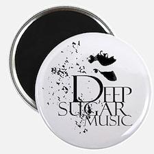 Deep Sugar Logo White Circle Magnet