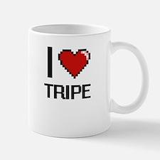 I love Tripe digital design Mugs