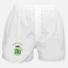 Pickled Green Beans Jar Boxer Shorts
