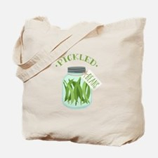 Pickled Green Beans Jar Tote Bag