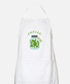 Pickled Green Beans Jar Apron