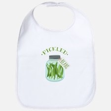 Pickled Green Beans Jar Bib