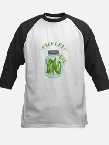 Pickled Green Beans Jar Baseball Jersey