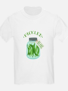 Pickled Green Beans Jar T-Shirt