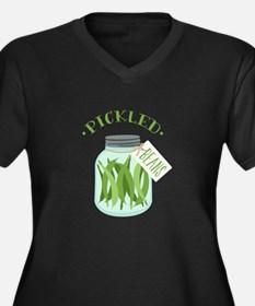 Pickled Green Beans Jar Plus Size T-Shirt