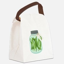 Pickled Green Beans Canvas Lunch Bag