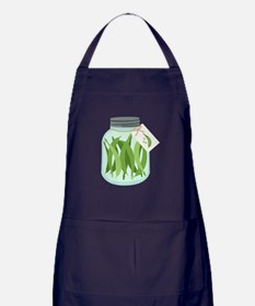 Pickled Green Beans Apron (dark)