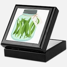 Pickled Green Beans Keepsake Box