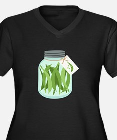 Pickled Green Beans Plus Size T-Shirt