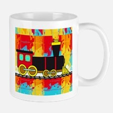 Fun Locomotive Choo Choo Train Mugs