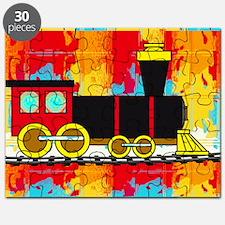 Fun Locomotive Choo Choo Train Puzzle