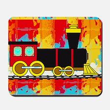 Fun Locomotive Choo Choo Train Mousepad