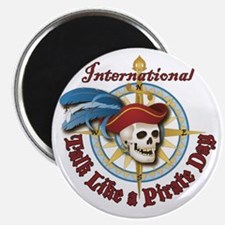 Talk Like A Pirate Classic Magnets