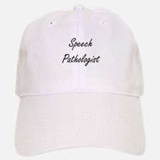 Speech Pathologist Artistic Job Design Baseball Baseball Cap