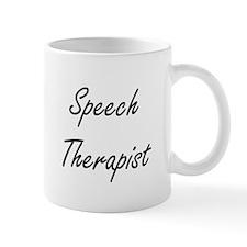 Speech Therapist Artistic Job Design Mugs