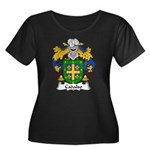 Cadalso Family Crest Women's Plus Size Scoop Neck