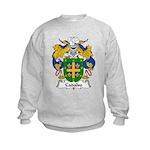 Cadalso Family Crest Kids Sweatshirt