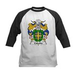 Cadalso Family Crest Kids Baseball Jersey