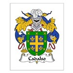 Cadalso Family Crest Small Poster